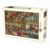 Puzzle 1000 pièces - Bibliothèque - DToys