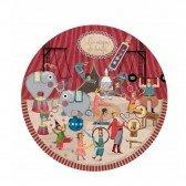 Puzzle rond Cirque - 24 pièces