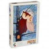 Puzzle 1000 pièces  Kürti Andrea - Les contes de Hiboux