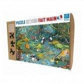 Puzzle en bois Crocos et compagnie - 100 pièces
