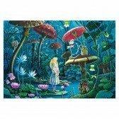 Puzzle en bois Alice au Pays des Merveilles - 100 pièces