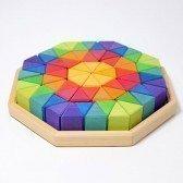 Puzzle Octogone 72 pièces Grimm's