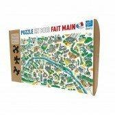 Puzzle en bois Paris Labyrinthes - 100 pièces