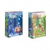 Puzzle réversible Nuit et Jour - 54 pièces