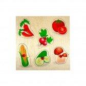 Puzzle en bois Premier âge - Légumes