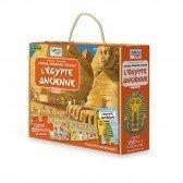Puzzle L'ancienne Egypte 200 pièces avec livre