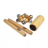 Mini Set de Percussions en bois - Fabricant Allemand
