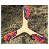 Warukay Boomerang tripale pour droitier et gaucher - adultes