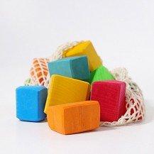 15 Blocs Waldorf colorés - Grimm's
