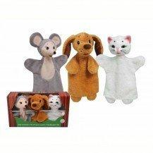 3 Marionnettes Animaux - Artisan Tchèque