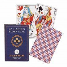 Jeu de 32 cartes à jouer - Piatnik