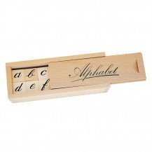 Alphabet en bois - Artisan du Jura
