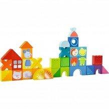 Blocs de construction Chat et Compagnie - Haba