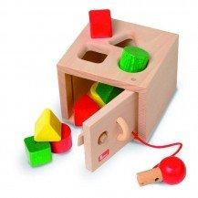 Boîte à formes à clef - NIC TOYS
