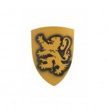 Bouclier en bois Bergish Lion - Jaune - VAH