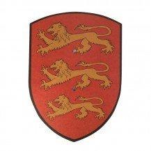 Bouclier en bois Richard Coeur de Lion - VAH