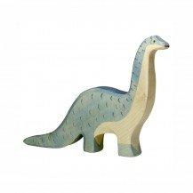 Brontosaure en bois - Holztiger
