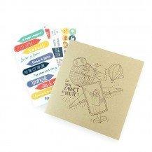 Carnet de bord de voyage - Agent Paper