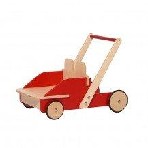 Chariot de marche en bois - NIC TOYS