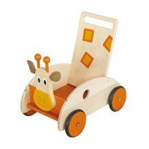 Chariot de marche Girafe - Scratch Europe