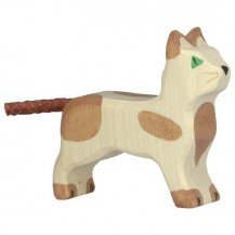 Chaton debout - Holztiger