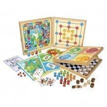 Coffret de jeux classiques - 80 règles - Jeujura