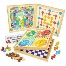 Coffret de jeux traditionnels - 50 règles - Jeujura