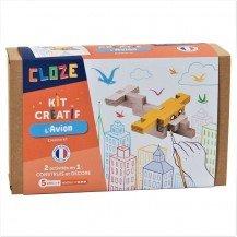 Kit créatif Cloze construction Avion - Cloze