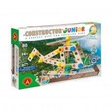 Jeu de construction Junior 3x1- Hélicoptère 80 pièces - Alexander Toys