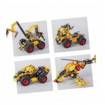 Jeu de construction Pro 5x1- Véhicules 434 pièces - Alexander Toys