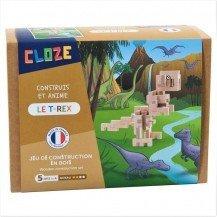 Kit créatif Cloze construction T-Rex - 41 pièces