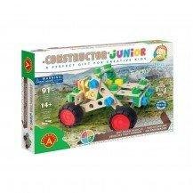 Jeu de construction Junior 3x1- Véhicule Tout Terrain 91 pièces - Alexander Toys