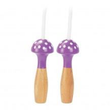 Corde à sauter violette à pois - Vilac