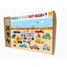 Puzzle Course dans le Désert 24 pcs - Puzzle Michèle Wilson