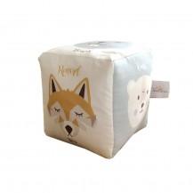 Grand cube d'éveil - Les Animaux de la Forêt - Carotte & Compagnie