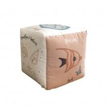Grand cube d'éveil - Les Animaux de la Mer - Carotte & Compagnie