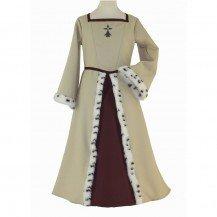 Déguisement médiéval - Anne de Bretagne - Le Panache Blanc