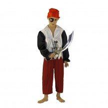 Déguisement Pirate - Le Panache Blanc