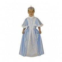 Déguisement Princesse bleue - Le Panache Blanc