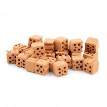 Demi Briques de construction Teifoc - 30 pièces - Teifoc