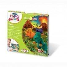 Pâte Fimo Kids Staedtler Dino - Pâte Fimo