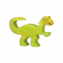 Dinosaure Oviraptor en bois - Holztiger