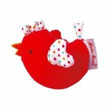 Doddy Le Poussin hochet rouge - Käthe Kruse
