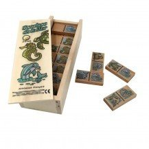 Dominos en bois Les Animaux Marins - Artisan du Jura