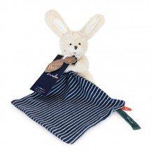 Doudou Lapin en coton biologique - 20 cm - Maïlou Tradition