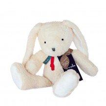 Doudou Lapin pantin en coton biologique - 35 cm - Maïlou Tradition