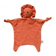 Doudou Lion orange coton biologique - aPunt Barcelona
