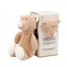 Doudou Ours coton biologique - Wooly Organic