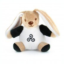 Doudou-Peluche Lapin Triskell - Mailou Tradition
