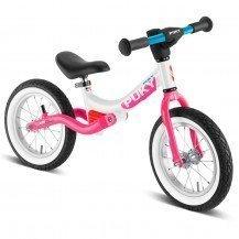 Draisienne Puky LR Ride Splash blanc-rose - 3 ans - Puky